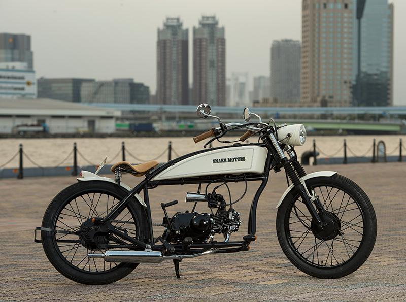 スネークモーターズのレトロバイク