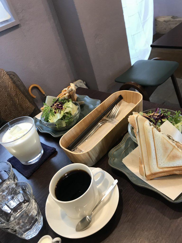 カフェ 雑貨と喫茶 福綴のランチ