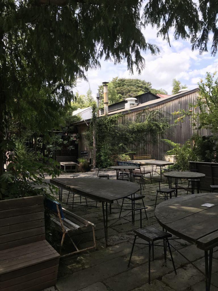 熊澤酒造のベーカリーとカフェ