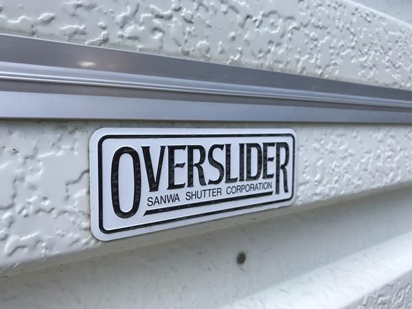 オーバースライダーのシャッター