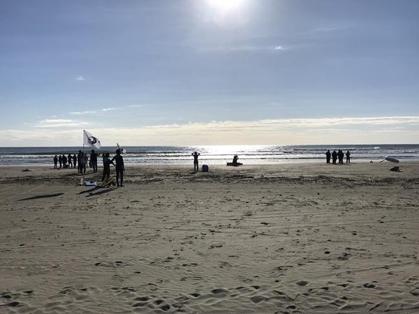 日本サーフィン連盟NSA公認のサーフィン大会のLAMER片貝 CUP(AAランク)