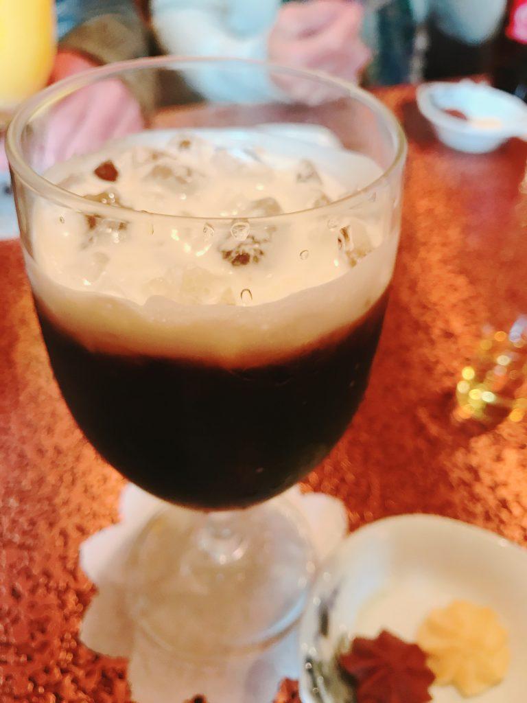 小田急相模原のアデリータのアイスコーヒー