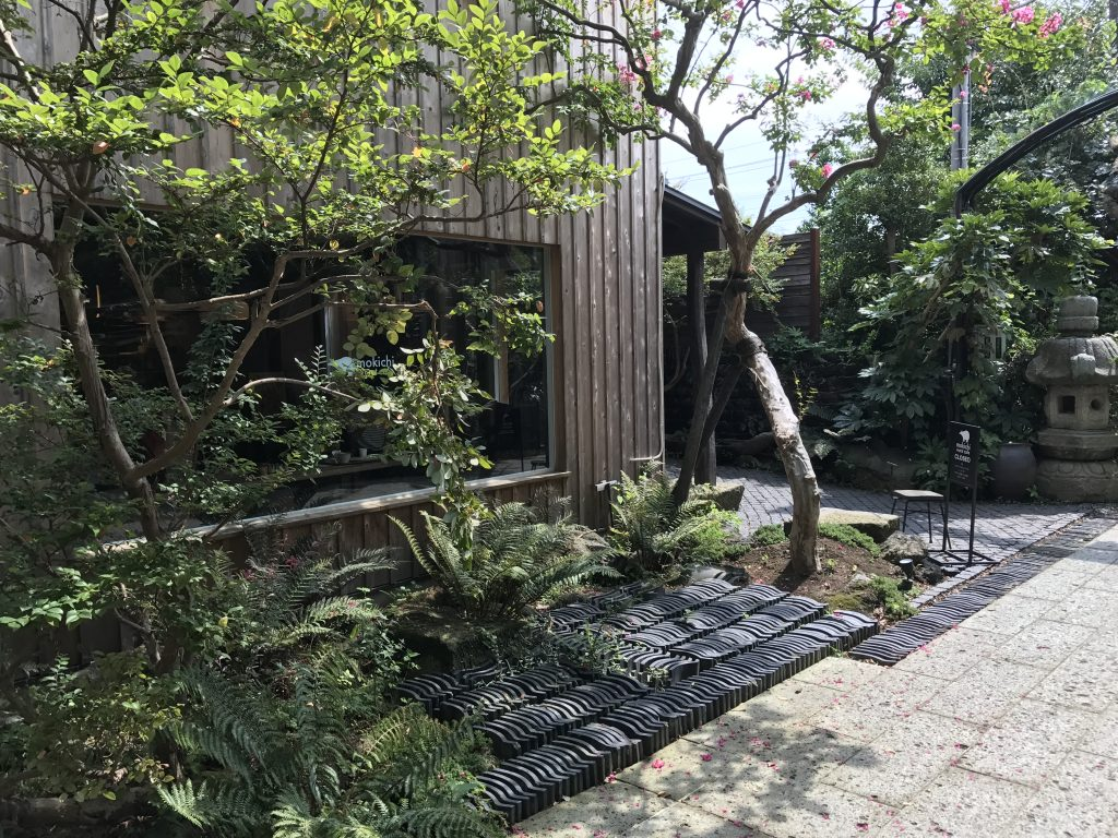 熊澤酒造のカフェ